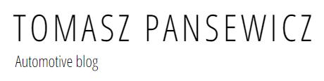 Tomasz Pansewicz – Automotive blog
